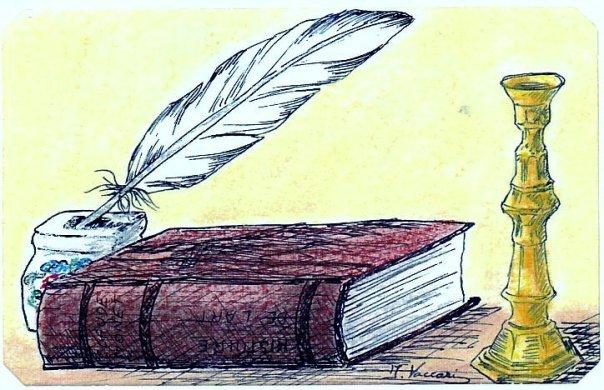 Ecrire. dans ECRIRE, LIRE:CITATIONS EN IMAGES. 19147_313424629166_8344459_n