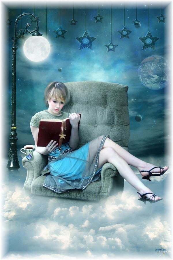 Femme qui lit. dans ET LES FEMMES ! 375871_261358777319949_1174912132_n