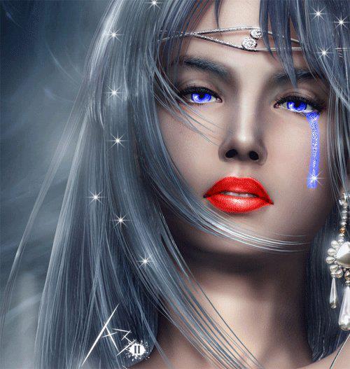Femme qui pleure. dans ET LES FEMMES ! 387218_2480705333525_160987721_n