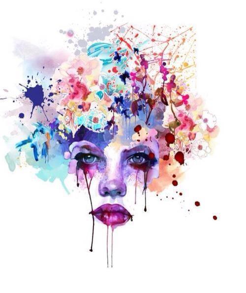 Femme qui pleure. dans ET LES FEMMES ! 318272_439920996085968_1511436544_n
