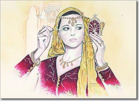 Femme kabyle. dans ET LES FEMMES ! 428678_103921909735113_272807080_n